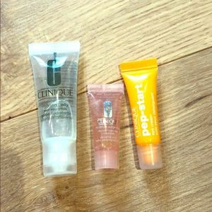 Clinique hydrating jelly eye jelly and eye cream!